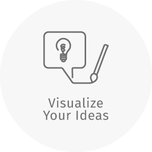 dZine feature_visualize your ideas