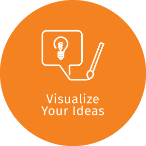 dZine feature_visualize your ideas next